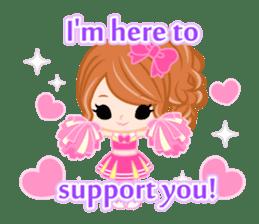 Support stickers-English- sticker #1006147