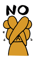 kuma-goro sticker #1006369