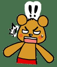 kuma-goro sticker #1006371