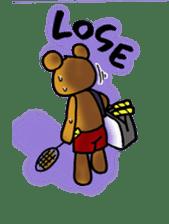 kuma-goro sticker #1006382