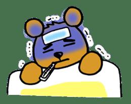 kuma-goro sticker #1006389