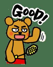 kuma-goro sticker #1006395