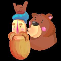 Hipster & Bear