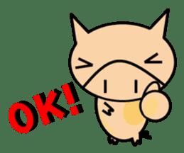 ENJOY! KOBUTA! ENGLISH! sticker #1008577