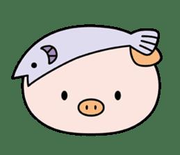 Ayukoro-chan formal Sticker sticker #1008691