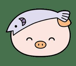 Ayukoro-chan formal Sticker sticker #1008692
