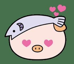 Ayukoro-chan formal Sticker sticker #1008694