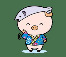 Ayukoro-chan formal Sticker sticker #1008697