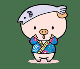 Ayukoro-chan formal Sticker sticker #1008698