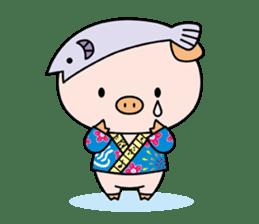 Ayukoro-chan formal Sticker sticker #1008699