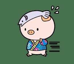 Ayukoro-chan formal Sticker sticker #1008701