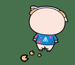 Ayukoro-chan formal Sticker sticker #1008705