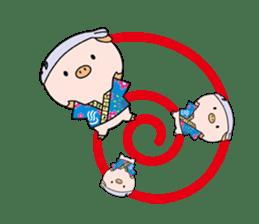 Ayukoro-chan formal Sticker sticker #1008711