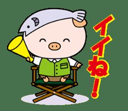 Ayukoro-chan formal Sticker sticker #1008714