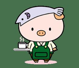 Ayukoro-chan formal Sticker sticker #1008715