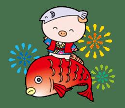 Ayukoro-chan formal Sticker sticker #1008719