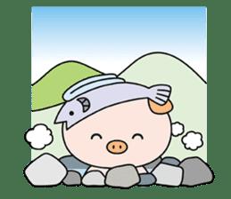 Ayukoro-chan formal Sticker sticker #1008720