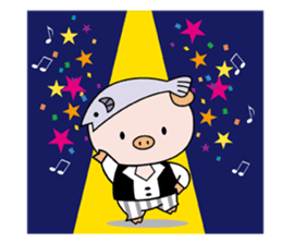 Ayukoro-chan formal Sticker sticker #1008724