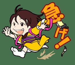 atutake's traditional charactor sticker #1011051
