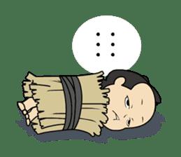 atutake's traditional charactor sticker #1011086