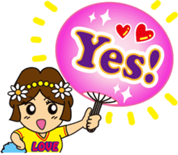 Go! Fun Fan Cheerleader! sticker #1012570