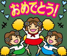 Go! Fun Fan Cheerleader! sticker #1012574