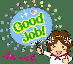 Go! Fun Fan Cheerleader! sticker #1012593