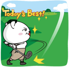 "White Bear's ""Weekend Golf Story"" sticker #1012824"