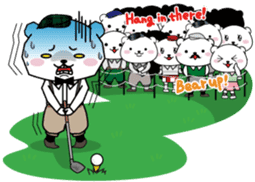 "White Bear's ""Weekend Golf Story"" sticker #1012827"