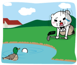 "White Bear's ""Weekend Golf Story"" sticker #1012830"