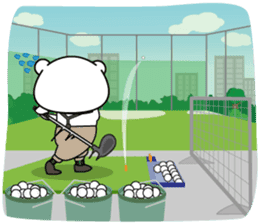 "White Bear's ""Weekend Golf Story"" sticker #1012845"