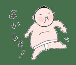 RIKISHI-KUN! sticker #1013371