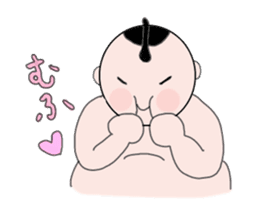 RIKISHI-KUN! sticker #1013381