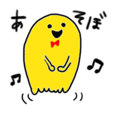 Rainbow-colored ghost sticker #1018149