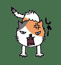 Three cats sticker #1018232