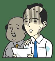 SAMURAI WORKER sticker #1018903