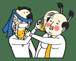 SAMURAI WORKER sticker #1018913