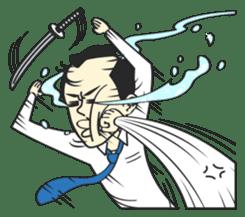 SAMURAI WORKER sticker #1018922