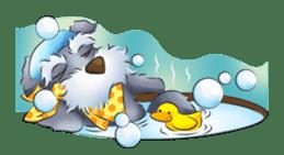 Schnauzer party sticker #1019225