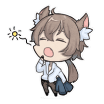 Vampire Princess and Wolf Prince sticker #1020338