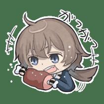 Vampire Princess and Wolf Prince sticker #1020344