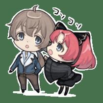 Vampire Princess and Wolf Prince sticker #1020354