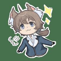 Vampire Princess and Wolf Prince sticker #1020359
