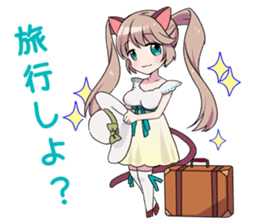 moe-moe stamp for notice and invitation sticker #1021057