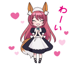 moe-moe stamp for notice and invitation sticker #1021072