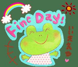 OSAKA FROG sticker #1021175