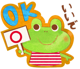 OSAKA FROG sticker #1021179