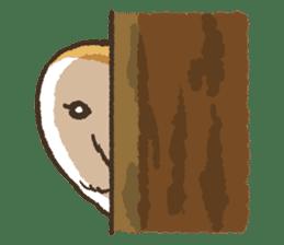 Raptors sticker (Owl,Eagle,Hawk,etc.) sticker #1022455