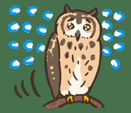Raptors sticker (Owl,Eagle,Hawk,etc.) sticker #1022459