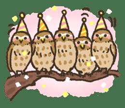 Raptors sticker (Owl,Eagle,Hawk,etc.) sticker #1022474
